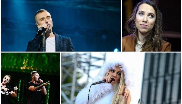 Noskaidrotas radiostacijās spēlētākās pašmāju dziesmas 2017. gadā
