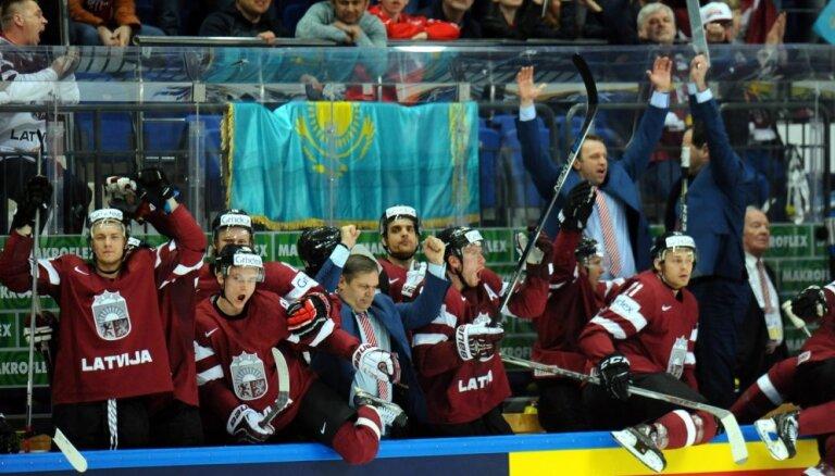Как сборная Латвии вернула шансы на плей-офф и отправила Казахстан в первый дивизион