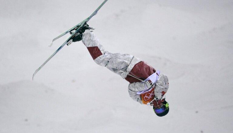 XXIII Ziemas olimpisko spēļu rezultāti frīstailā vīriešiem mogula disciplīnā (12.02.2018.)
