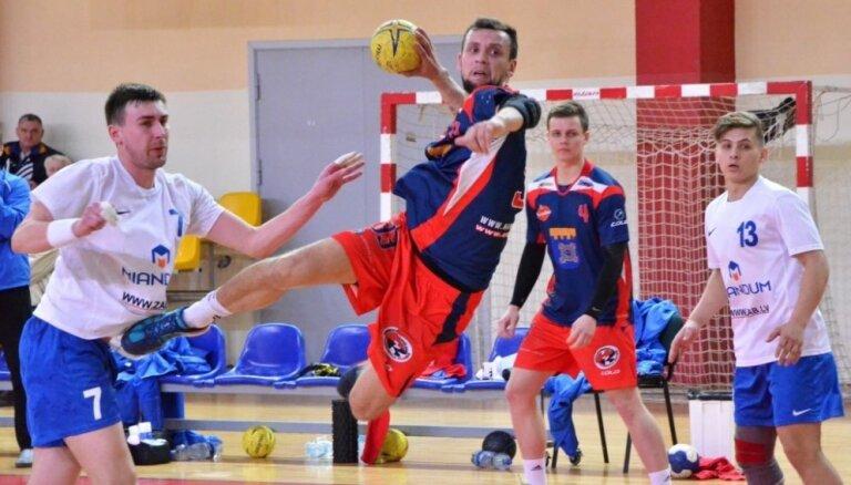 'Tenax' izcīna smagu uzvaru pār 'Ogre/Miandum' un iekļūst Latvijas handbola čempionāta pusfinālā