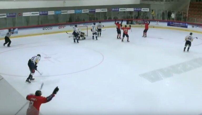 Video: Latvijas hokeja virslīgas 11. nedēļas meistarstiķi