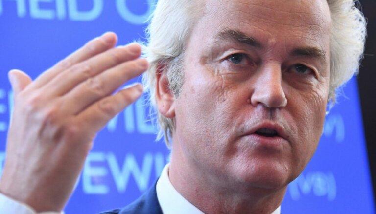 Radikāļu līderis Vilderss par tautiešu diskriminēšanu iesūdz tiesā Nīderlandes premjeru