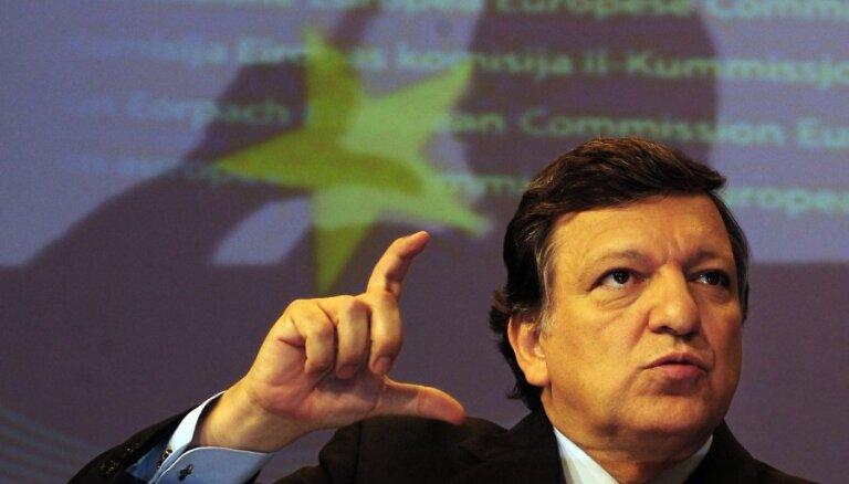 Баррозу поддерживает вступление Латвии в еврозону
