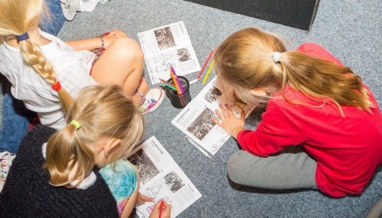 LNVM aicina ģimenes ar bērniem uz nodarbību 'Soli pa solim Latvijas gadsimtā'
