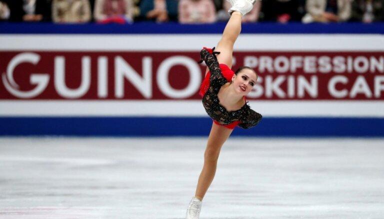 Olimpiskā čempione Zagitova 16 gadu vecumā kļūst par pasaules čempioni