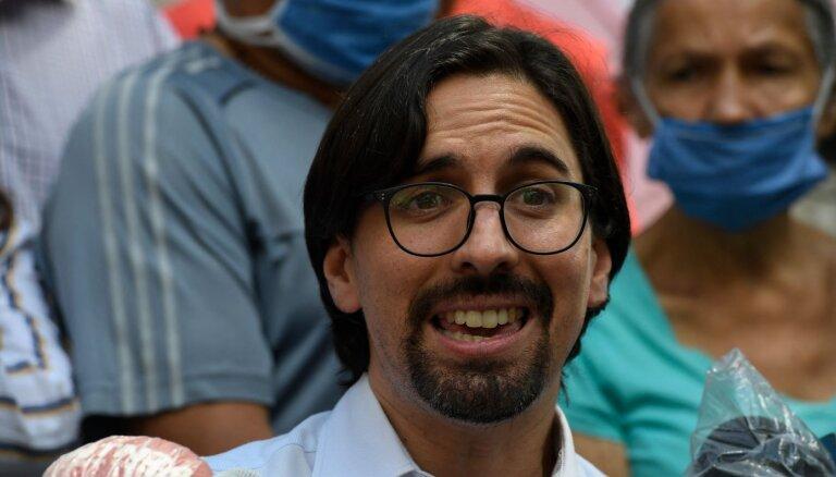 Venecuēlā aizturēts pazīstamais opozicionārs Gevara