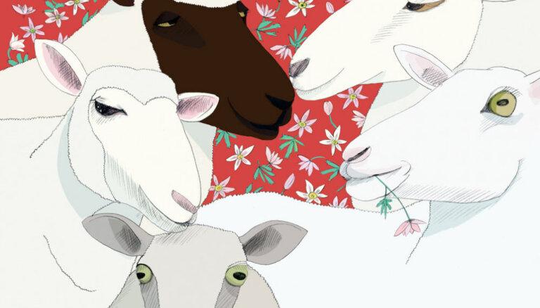 Izdota somu dzejnieces Heli Lāksonenas grāmata bērniem 'Piec ait kalns'