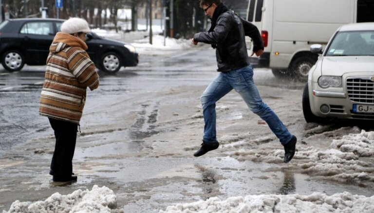 В Латвии началась метеорологическая весна