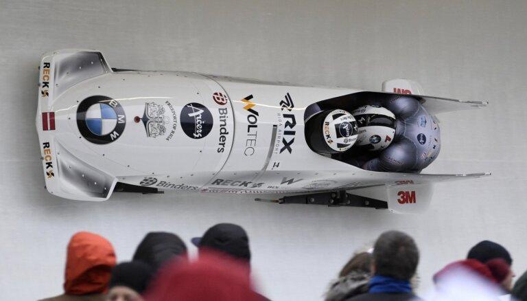 Latvija uz pasaules čempionātu dodas ar trīs bobsleja divniekiem