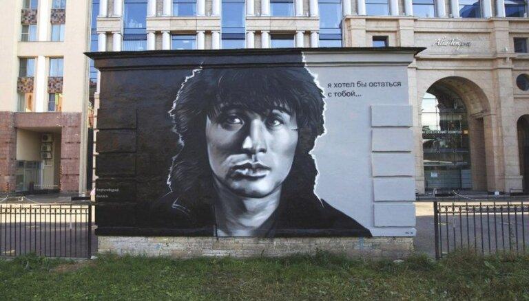 В Санкт-Петербурге уничтожат гигантский портрет Виктора Цоя