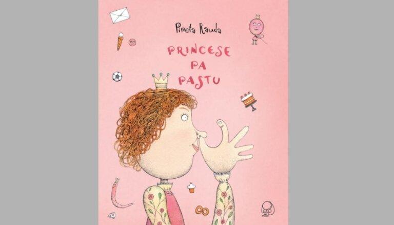 Izdota igauņu rakstnieces Piretas Raudas grāmata bērniem 'Princese pa pastu'