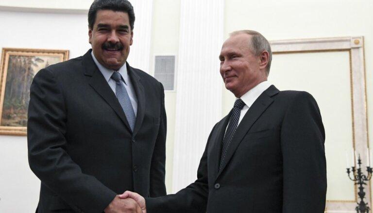 Finansiālās intereses un revolūciju nicināšana: četri iemesli Putina atbalstam Maduro