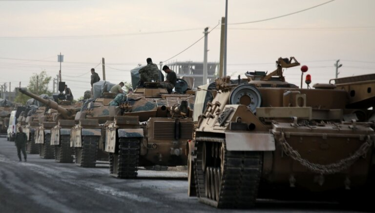 Турция захватила сирийский приграничный город в провинции Ракка