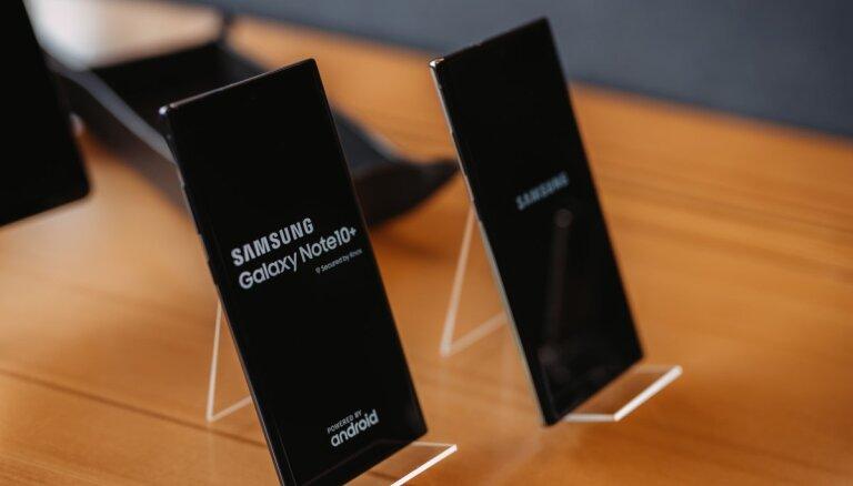 ФОТО: Samsung представил новый флагманский смартфон