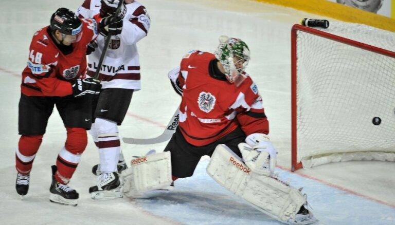 Austrijas izlases vārtsargs: zinājām, ka Latvija par katru cenu gribēs atspēlēties