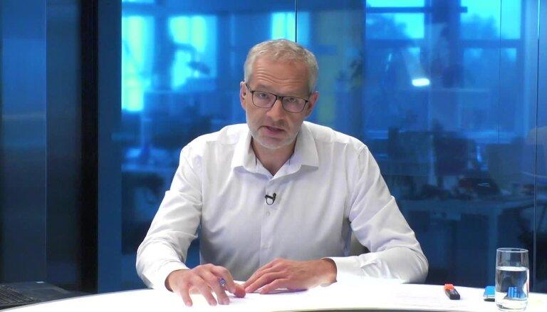 'Delfi TV ar Jāni Domburu' atbild bijušais LU rektors Indriķis Muižnieks. Pilns ieraksts