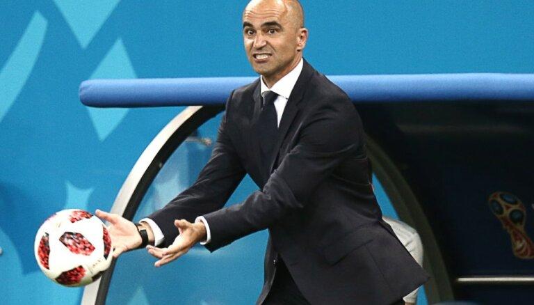 Beļģijas izlases treneris: spēle ar Japānu bija īsta rakstura pārbaude