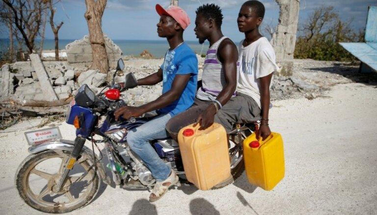 Viesuļvētrā 'Metjū' Haiti gājuši bojā vismaz 842 cilvēki