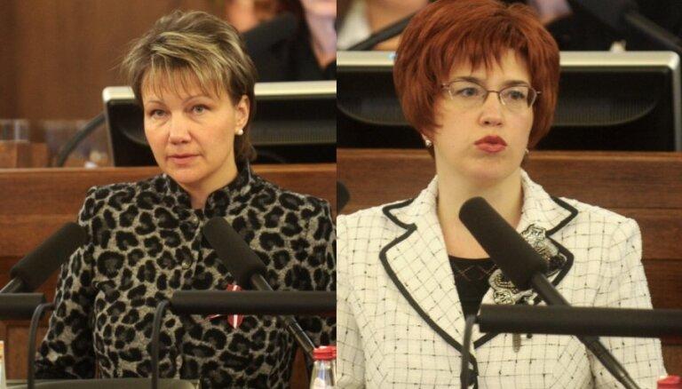 Deputātes Lazarevas apmeklētājs Saeimas kabinetā mēģinājis apzagt viņas kolēģi Cvetkovu