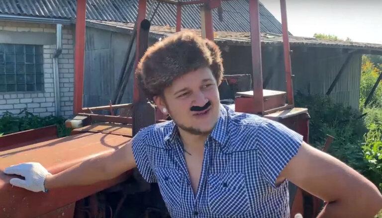 Video: Jaunieši parodē šovu 'Saimnieks meklē sievu'