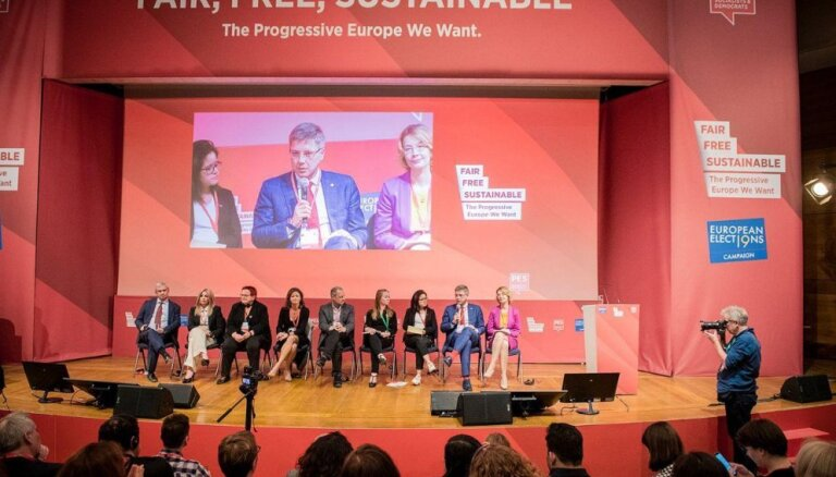 Ušakovs kļuvis par Eiropas socialdemokrātu mēru tīkla prezidentu