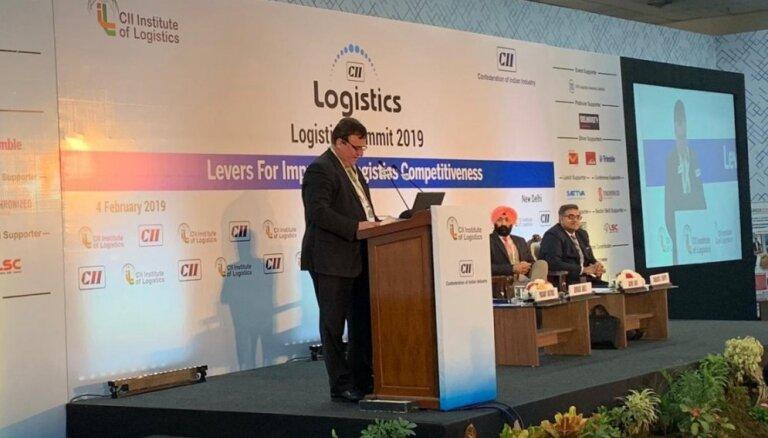 Indijā novērtē LDz priekšrocības kravu pārvadājumos no Āzijas uz Eiropu