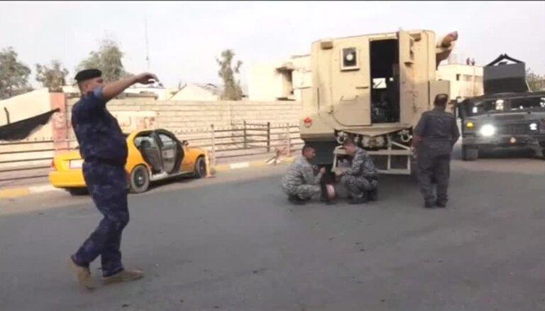Pašnāvnieku sarīkotos sprādzienos Kirkūkā nogalināti seši cilvēki