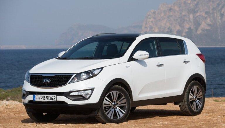 'Kia Sportage' atzīts par skaistāko auto 'TopGear godalgas 2015' vērtējumā