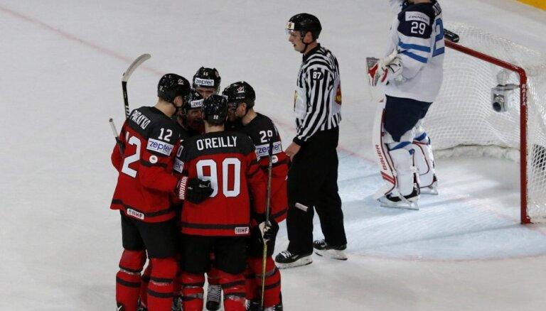 ВИДЕО: Финны проиграли Канаде и не вышли на Россию в 1/4 финала