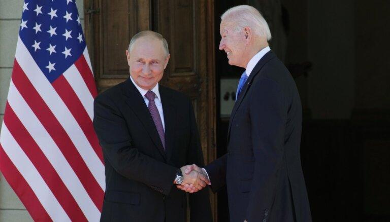 """""""Иллюзий нет, о доверии речь не шла"""". Путин и Байден об итогах своей встречи в Женеве"""