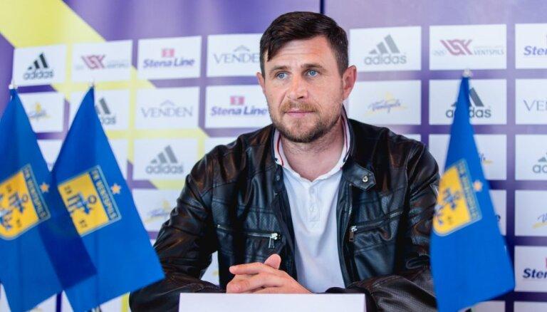 FK 'Ventspils' krīze: klubu pamet galvenais treneris Frunze un lielākais ieguldītājs Šišhanovs