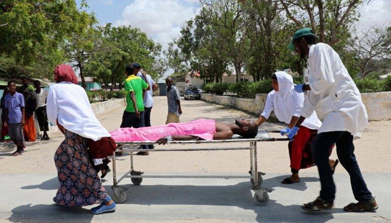 Sprādzienā Mogadišu mēra birojā seši bojāgājušie