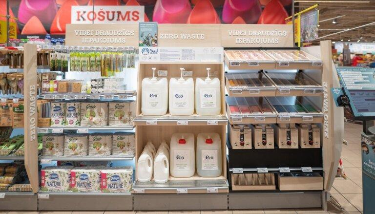 ФОТО: В магазинах Rimi начинают продавать хозяйственные и гигиенические товары без упаковки