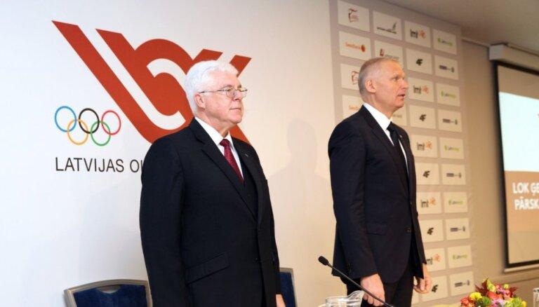 Latvijas Olimpiskā komiteja pārceļ prezidenta vēlēšanas