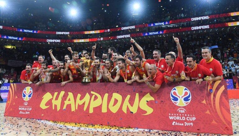 Сборная Испании во второй раз выиграла чемпионат мира по баскетболу
