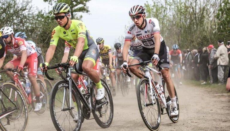 Riteņbraucējs Liepiņš izcīna sesto vietu vienas dienas velobraucienā 'Tour de l'Eurometropole'