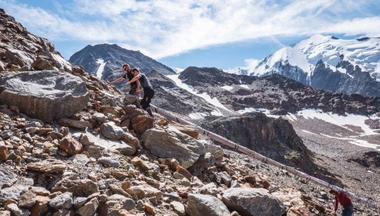 Ceļotāju stāstu vakarā Valmierā stāstīs par ekspedīciju 'Monblāns 2018'
