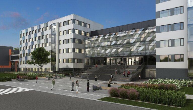 Vizualizācija: Turpina daudzmiljonu investīcijas RTU Ķīpsalas studentu pilsētiņā