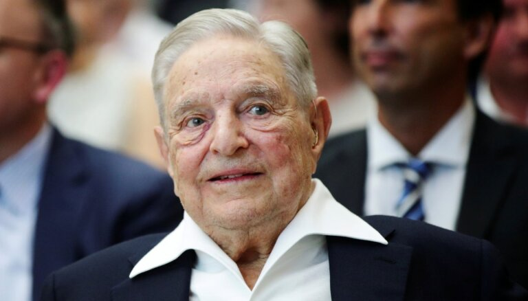 Ik dienu pusmiljons negatīvu soctīklu ierakstu par Sorosu; vaino ASV nemieru finansēšanā