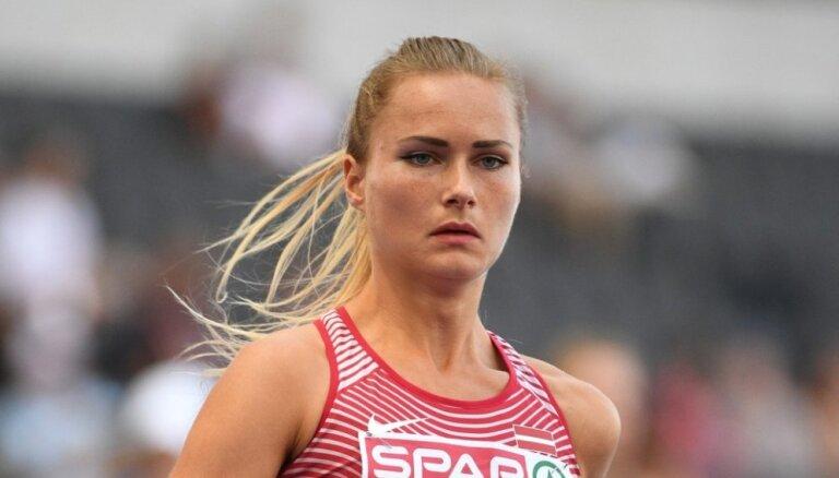 Velvere labo Latvijas rekordu 800 metru skrējienā telpās
