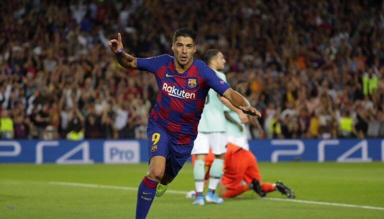 Svaresa meistarklase - 'Barcelona' atspēlējas spēlē pret 'Inter'