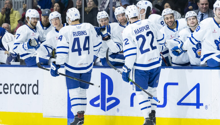 Rubīns noslēdz līgumu ar NHL klubu 'Maple Leafs'