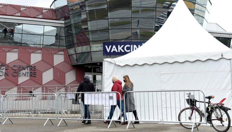 'Dzīvo rindu' izmēģinājumā izlietotas 1034 Covid-19 vakcīnas