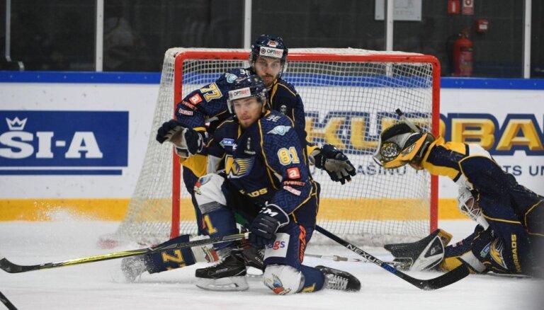 'Kurbads' arī otrajā pusfināla spēlē atstāj 'sausā' 'Zemgale'/LLU hokejistus