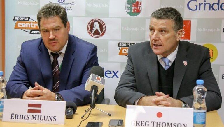 Ēriks Miļuns: patīkami debiju Latvijas hokeja izlases trenera amatā atzīmēt ar uzvaru
