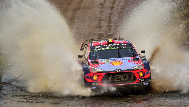 Nevils svin uzvaru otrajā WRC posmā pēc kārtas