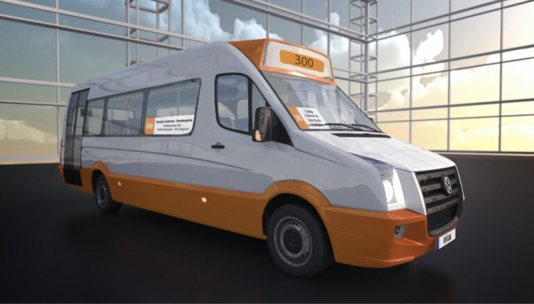 'Rīgas mikroautobusu satiksme' aicina pievienoties profesionālus minibusu vadītājus ar D kategoriju un 95. kodu