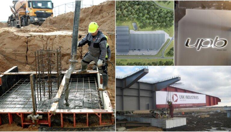 Top: noskaidroti būvniecības nozares lielākie pelnītāji