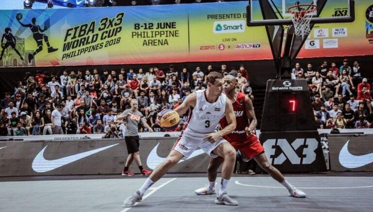 Latvijas 3x3 basketbolisti Pasaules kausa apakšgrupā tiksies ar olimpisko spēļu saimnieci Japānu