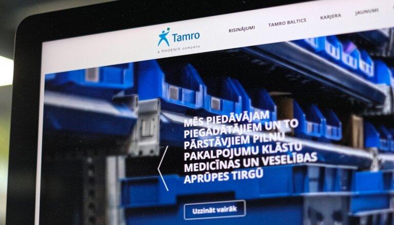 Farmaceitisko izstrādājumu vairumtirgotājs 'Tamro' reģistrējis patieso labuma guvēju